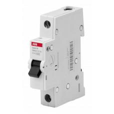 Выключатель автоматический однополюсный BMS411C63 63А C 4,5кА (BMS411C63) | 2CDS641041R0634 | ABB