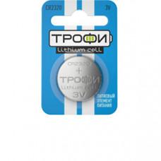 Батарейка литиевая Трофи CR2320-1BL (10/240/30240) (часовая) | Б0003651 | ЭРА