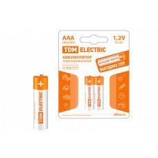 Аккумулятор AAA-800 mAh Ni-MH BP-2 | SQ1702-0074 | TDM