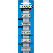Батарейка щелочная (алкалиновая) Трофи A23-5BL (100/1000/48000) (23A) | C0034938 | ЭРА