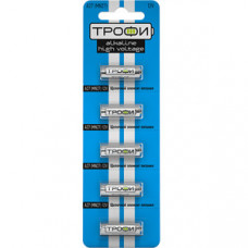 Батарейка щелочная (алкалиновая) Трофи A27-5BL (100/1000/60000) (27A) | C0034939 | ЭРА
