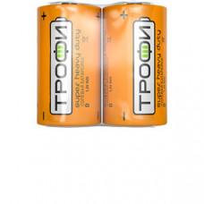 Батарейка солевая (ЭП) Трофи R20-2S (12/288/4608) (D) | C0033714 | ЭРА