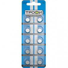 Батарейка щелочная (алкалиновая) Трофи G5 (393) LR754, LR48 (200/1600/134400) (часовая) | C0035053 | ЭРА