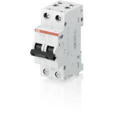 Выключатель автоматический двухполюсный (1п+N) S201 80А C 6кА (S201 C80NA) | 2CDS251103R0804 | ABB