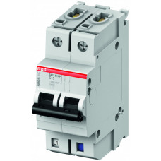 Выключатель автоматический двухполюсный (1п+N) S401M 40А K 10кА (S401M-K40NP)   2CCS571103R8557   ABB
