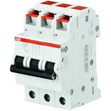 Выключатель автоматический трехполюсный S203S 10А B 6кА (S203S-B10) | 2CDS253002R0105 | ABB