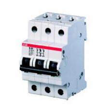 Выключатель автоматический трехполюсный M203 20А K 25кА (M203 20A) | 2CDA283799R0201 | ABB