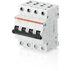 Выключатель автоматический четырехполюсный (3п+N) S203 80А C 6кА (S203 C80NA) | 2CDS253103R0804 | ABB