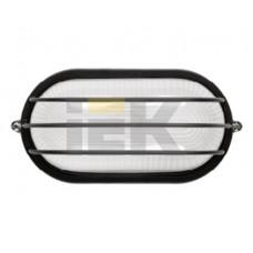 Светильник НПП 1406 60Вт Е27 IP54 белый/овал сетка | LNPP0-1406-1-060-K01 | IEK
