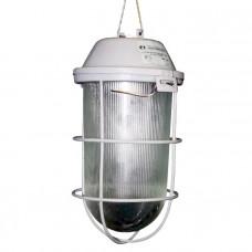Светильник НСП 02-200-002 ip52 Желудь корпус с решеткой серый ГУ | 1005550281 | Элетех