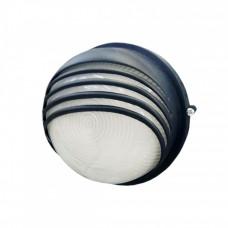 Светильник НПП 1307 60Вт Е27 IP54 черный/круг ресничка | LNPP0-1307-1-060-K02 | IEK