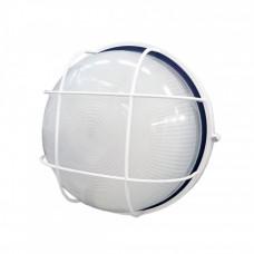 Светильник НПП 1102 100Вт Е27 IP54 белый/круг с реш. | LNPP0-1102-1-100-K01 | IEK