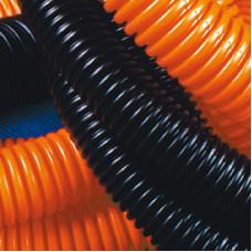 Труба гибкая гофрированная 32мм без протяжки тяжелая (25м) оранжевый | 70532 | DKC