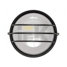 Светильник НПП 1306 60Вт Е27 IP54 черный/круг сетка | LNPP0-1306-1-060-K02 | IEK