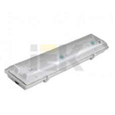 Светильник ЛПП/ЛСП 3902А ABS/PS 2х36Вт Т8 G13 ПРА IP65 | LLSP2-3902A-2-36-K03 | IEK