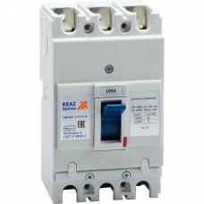 Выключатель автоматический OptiMat E100N100-УХЛ3 | 224963 | КЭАЗ