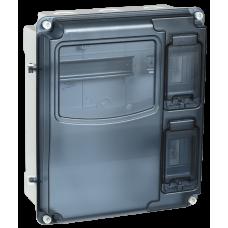 Корпус пластиковый ЩУРн-П 1/3IP55PC | MSP1-N-03-55 | IEK