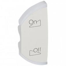 Лицевая панель Celiane - My Home - SCS - левая - освещение и звуковая трансляция - белый | 068150 | Legrand