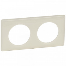 Celiane Сл. кость глянец Рамка 2-я (2+2 мод) | 066622 | Legrand