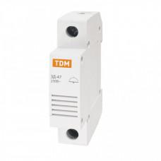 Звонок ЗД-47 на DIN-рейку | SQ0215-0001 | TDM