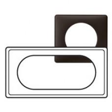 Celiane Перкаль Черная Рамка 4/5 мод | 066745 | Legrand