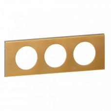 Celiane Золото Рамка 3-я (2+2+2 мод) | 069133 | Legrand