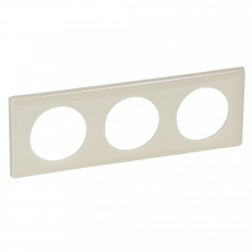 Celiane Сл. кость глянец Рамка 3-я (2+2+2 мод) | 066623 | Legrand