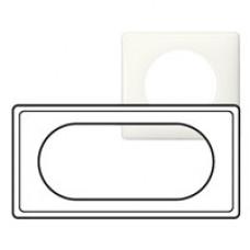 Celiane Белый глянец Рамка 4/5 мод | 066635 | Legrand