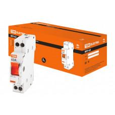 Модульный переключатель трехпозиционный МП-63 1P 63А | SQ0224-0009 | TDM