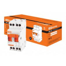 Модульный переключатель трехпозиционный МП-63 2P 20А | SQ0224-0013 | TDM