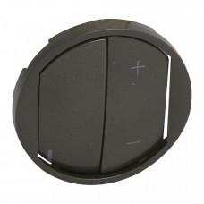 MyHome Play Zigbee. Клавиша управляющего устройства светорегулятора.Графит | 067899 | Legrand
