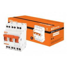 Модульный переключатель трехпозиционный МП-63 3P 25А | SQ0224-0023 | TDM