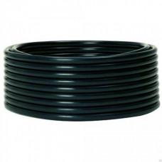Труба жесткая гладкая ПНД 25мм (100м/уп) черный PROxima   tpndg-25   EKF