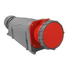 Розетка стационарная ССИ-135 63А-6ч/200/346-240/415В 3Р+РЕ+N IP67 MAGNUM | PSN12-063-5 | IEK