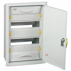 Корпус металлический ЩРв-24з-0 36 УхЛ3 IP31 (460х310х130) PRO | MKM15-V-24-31-ZU | IEK