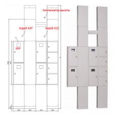 Компенсатор высоты для УЭРМ-Х-2850 (к-т 2шт.) | IND-KOMP-2850-1 | IEK
