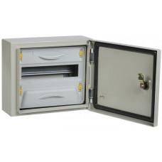 Корпус металлический ЩРн-12мз-1 У2 IP54 PRO | MKM16-N-12m-54-ZU | IEK