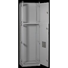 Шкаф напольный цельносварной ВРУ-2 18.60.60 IP31 TITAN | YKM2-C3-1866-31 | IEK