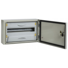 Корпус металлический ЩРн-18з-1 У2 IP54 PRO | MKM16-N-18-54-ZU | IEK