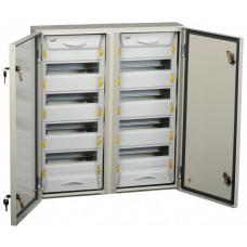 Корпус металлический ЩРн-2х48з-1 У2 IP54 (704х620х135) PRO | MKM16-N-2X48-54-ZU | IEK
