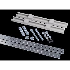 Комплект крепления металлокорпуса к столбу монтажной полосой | YKK-0-125 | IEK