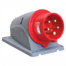 Вилка стационарная ССИ-525 32А-6ч/200/346-240/415В 3Р+РЕ+N IP44 MAGNUM | PSN52-032-5 | IEK