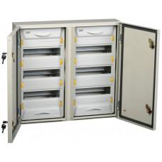 Корпус металлический ЩРн-2x36з-1 У2 IP54 (579х620х135) PRO | MKM16-N-2X36-54-ZU | IEK