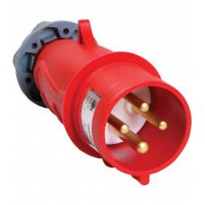 Вилка переносная ССИ-024 32А-6ч/380-415В 3Р+РЕ IP44 MAGNUM | PSN02-032-4 | IEK