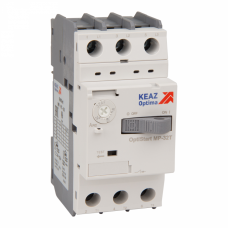 Автоматический выключатель для защиты двигателя OptiStart MP-32T-0,63 | 115716 | КЭАЗ