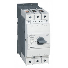 Автоматический выключатель для защиты электродвигателей MPX3 T100H 63A 100kA   417376   Legrand