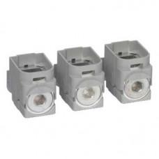 ВТЫЧНОЙ РАЗЪЕМ ДЛЯ GV7R 150A(3 РАЗЪЕМА) | GV7AC022 | Schneider Electric