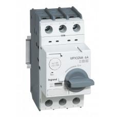 Автоматический выключатель для защиты электродвигателей MPX3 T32MA 17A 50kA   417352   Legrand