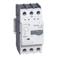 Автоматический выключатель для защиты электродвигателей MPX3 T32S 0,16A 100kA   417300   Legrand