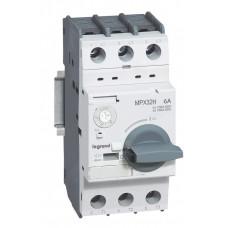 Автоматический выключатель для защиты электродвигателей MPX3 T32H 1,6A 100kA   417325   Legrand